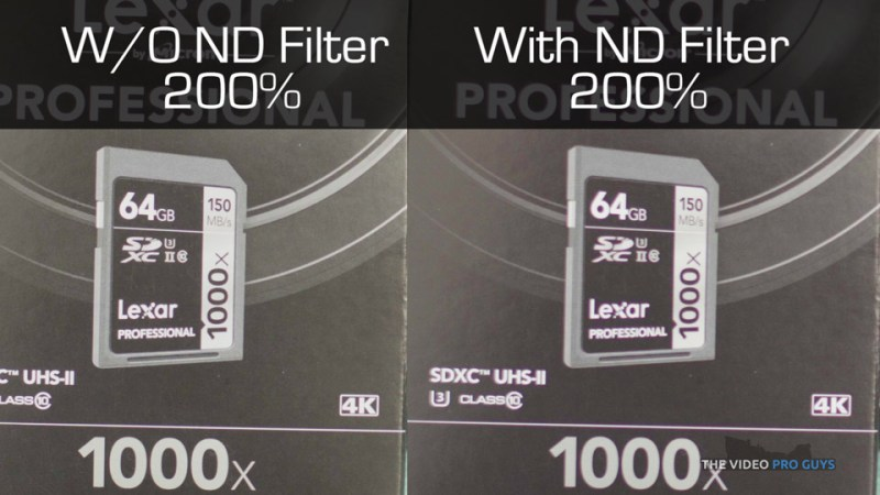 ND Filter comparison