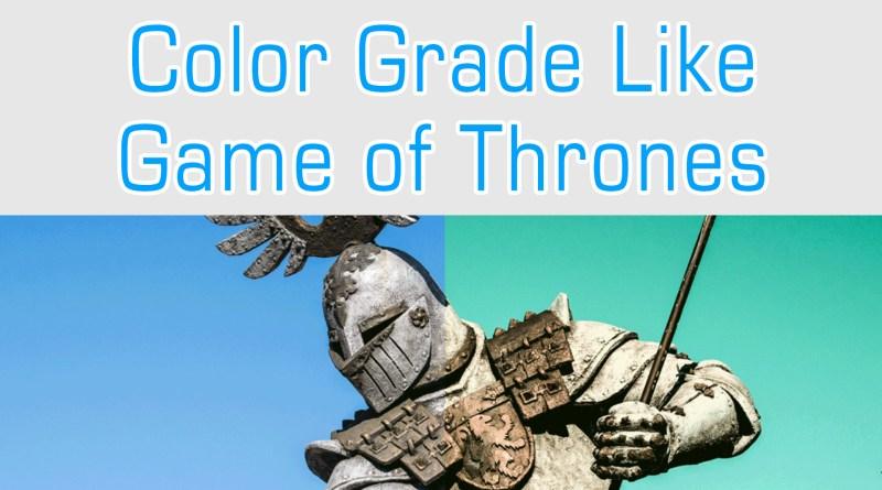 Game of thrones grade