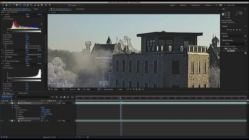 after-effects-Opacity