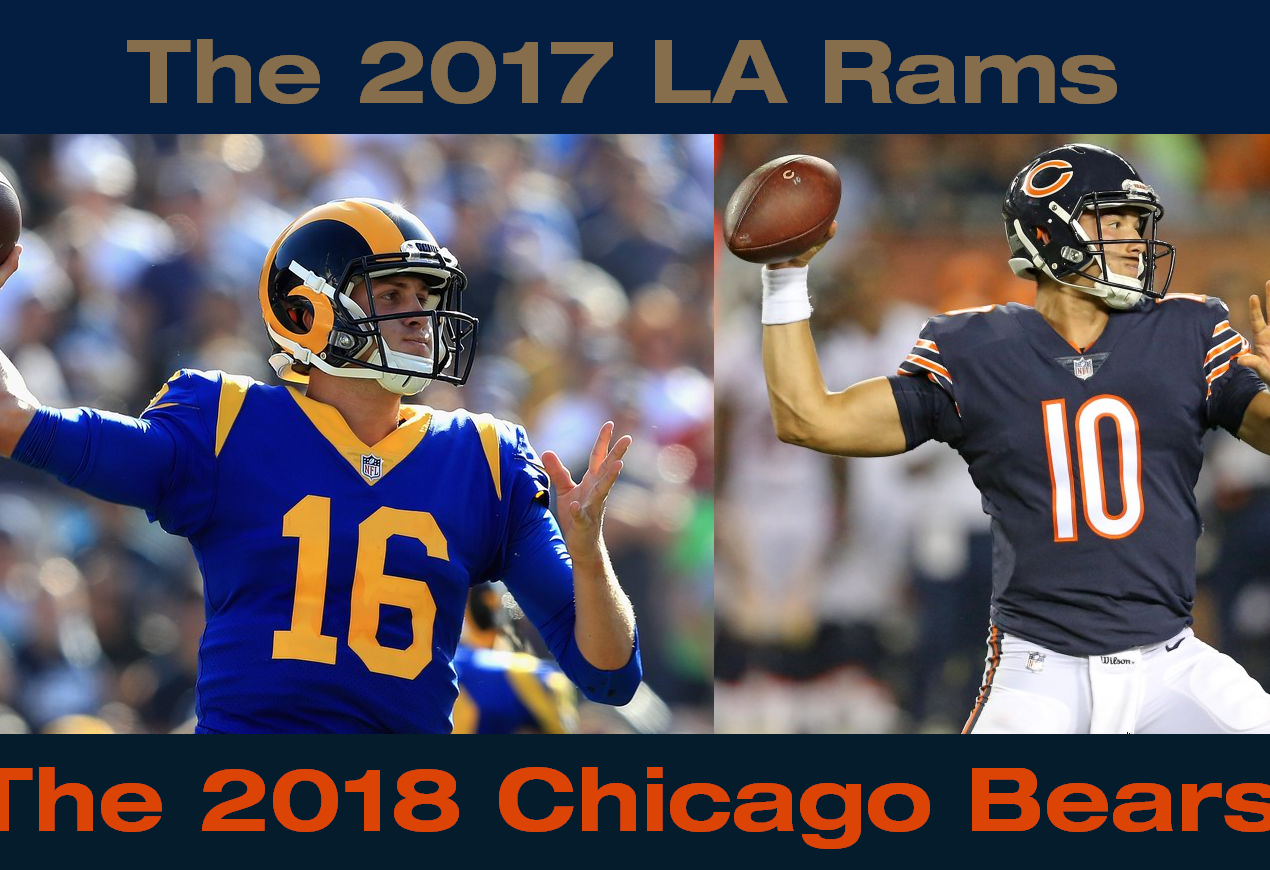 The 2018 Chicago Bears are the New 2017 LA Rams