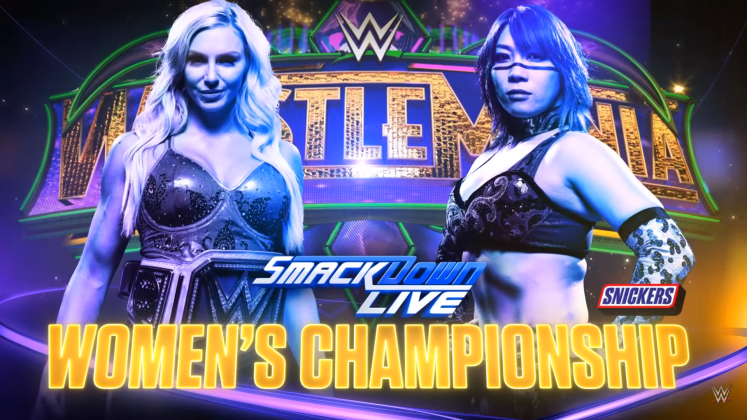 Charlotte vs Asuka 1024x576 - Rating the Build-Up of Every WrestleMania 34 Match