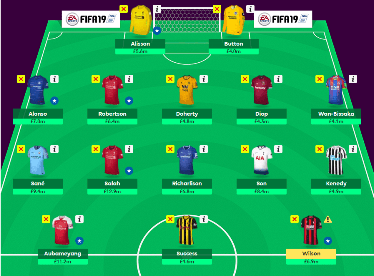 My Team GW16 - MyFPL, GW17: Let's Get Back to Business