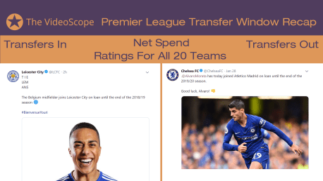 Premier League January 2019 Transfer Window Recap