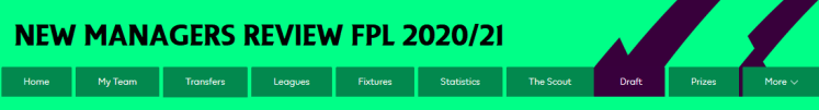 New Managers Review FPL 2021 21 1024x138 - The 2020/21 Fantasy Premier League Guide