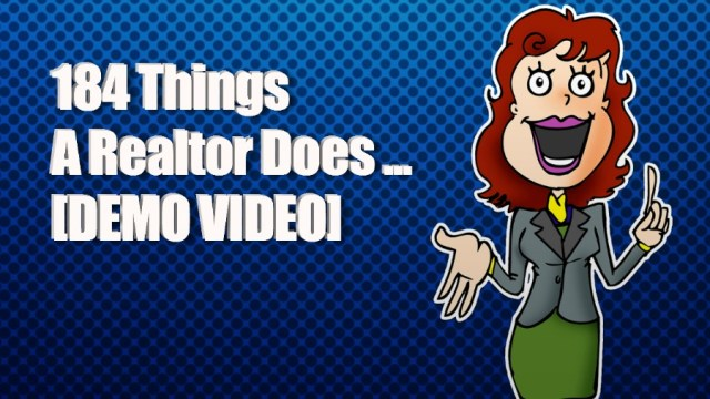 184 Things A Realtor Does To Sell A House Demo Video 900