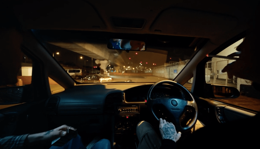 Check Out This Thrilling One-Take Music Video image of car