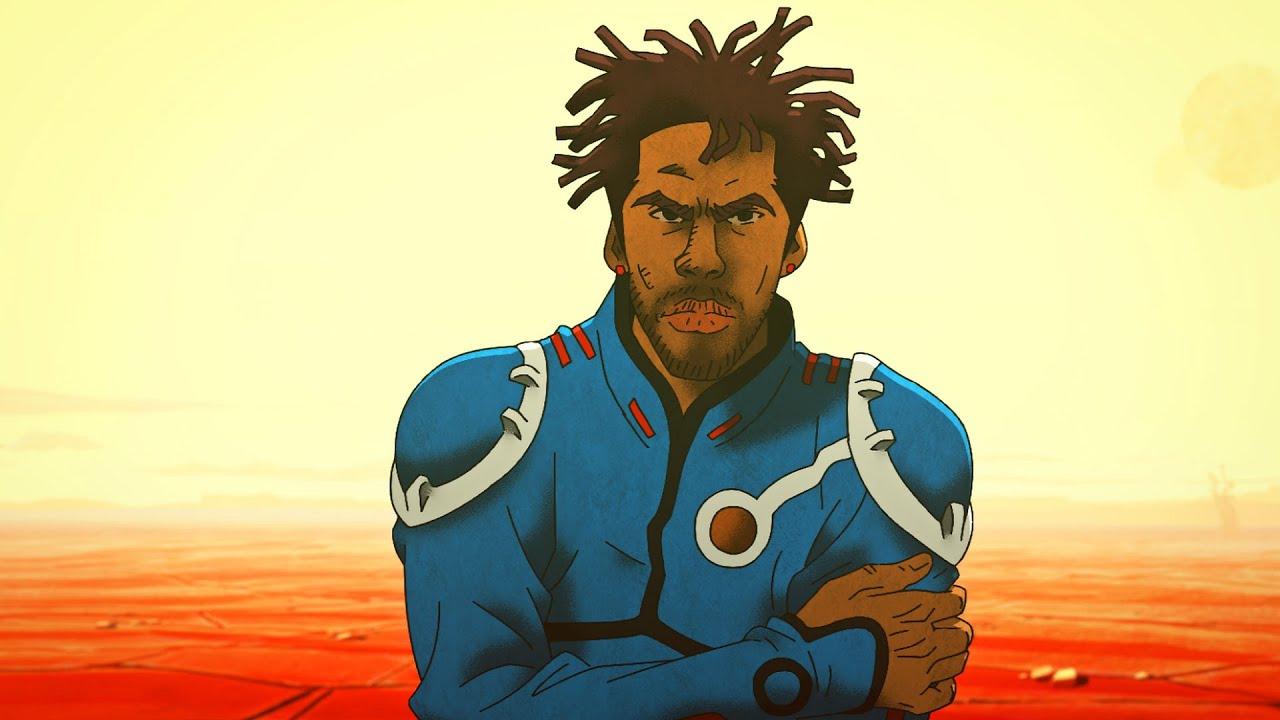 Anderson Paak Goes To A New Planet In This Cool Animated Music Video image of anderson