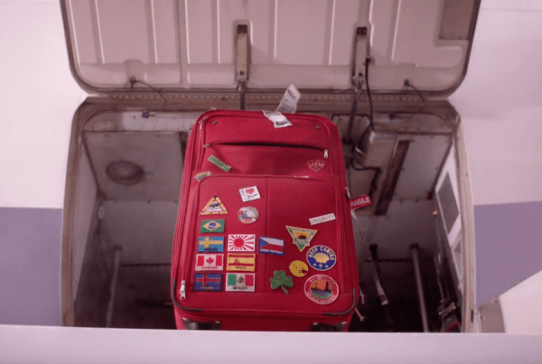 A Suitcase Comes To Life In This Funny Ad image of suitcase