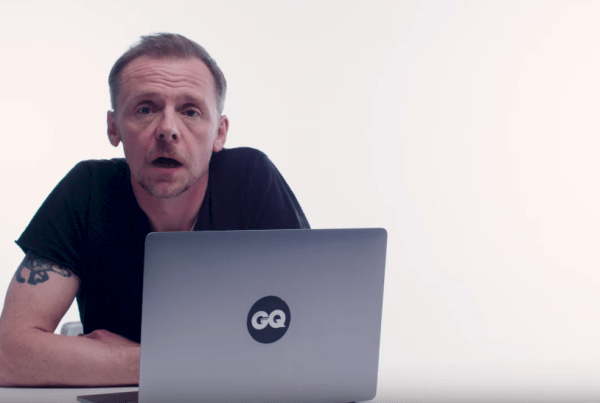 """Simon Pegg Revisits Scenes From """"Shaun Of The Dead"""" With GQ image of Simon Pegg"""