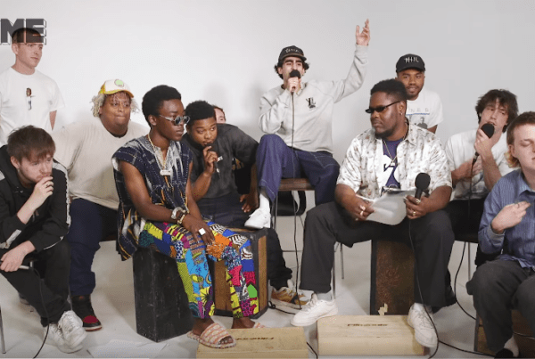 NME Play Show And Tell With Brockhampton image of Brockhampton