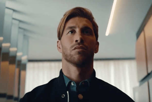 Sergio Ramos Becomes A King With Budweiser image of Sergio Ramos