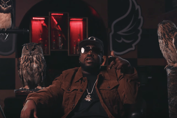 Rapper Big Boi Shows Rolling Stone His Owl Collection image of Big Boi