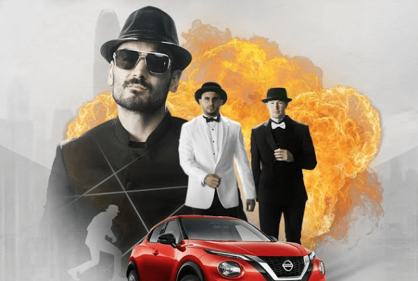 Nissan And The Star Players From Manchester City Create An Action Film image of Manchester City