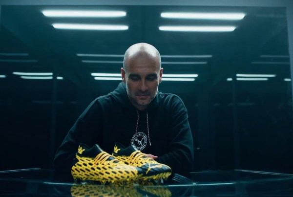 "Puma And Star Football Players Tell You To ""Be The Spark"" image of Puma"