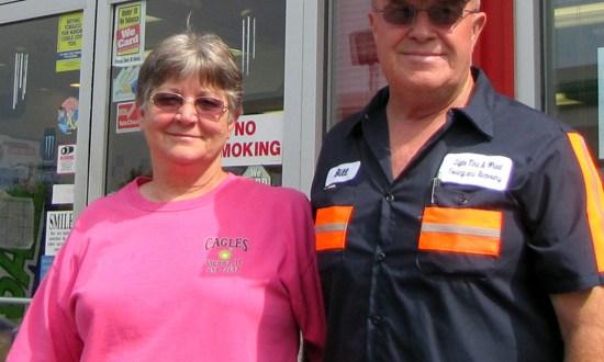 picture of Sue and Bill Cagle