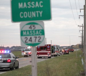 County line accident
