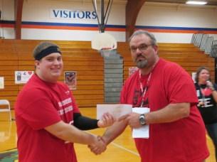 3 point Shootout Winner - Damion Wheaton