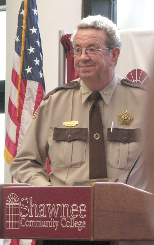Johnson County Sheriff Elry Faulkner