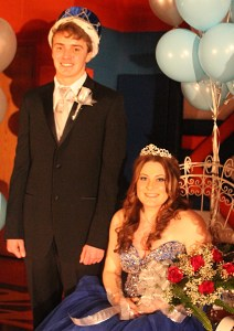 VHS king & queen crowned