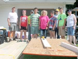 Allie Byrde construction team