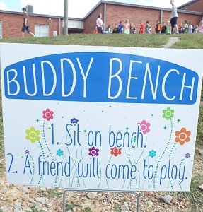 Buddy Bench sign
