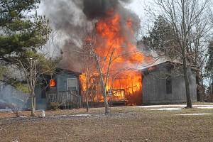 1-24-16 Rt. 147 house fire