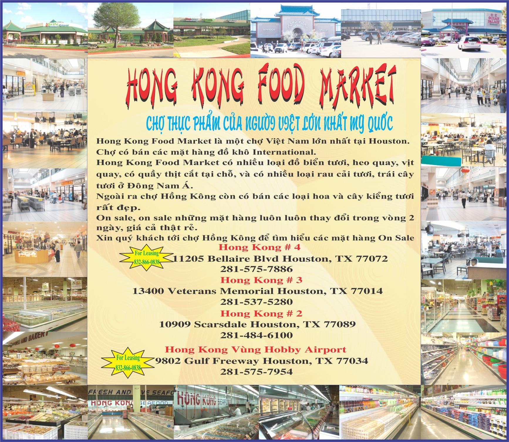 HongKong Food Market
