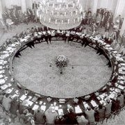 Polish Round Table Talks, Warsaw, 6th February 1989.