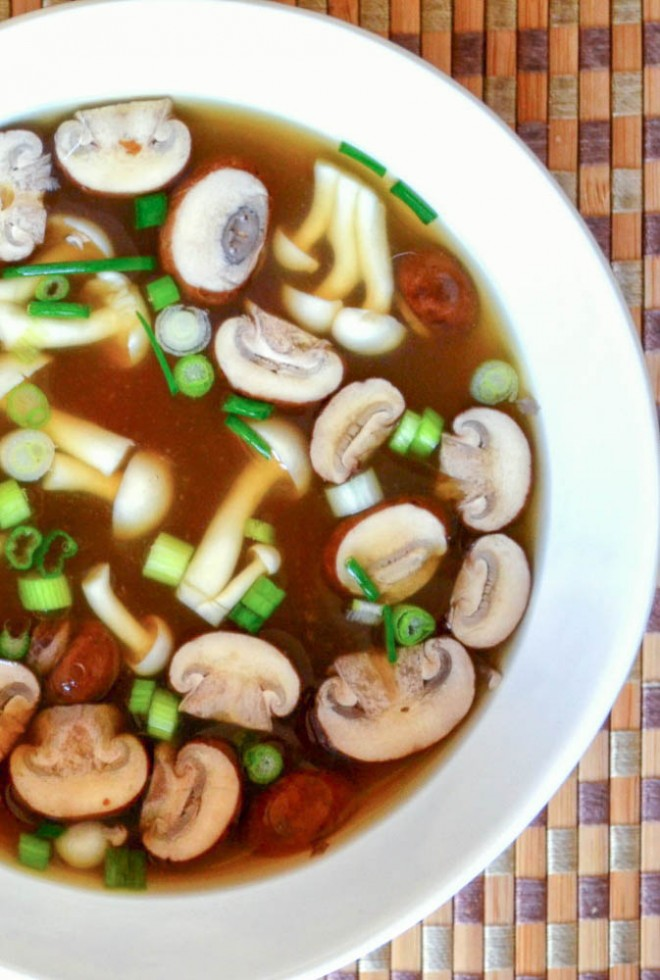 simple and nourishing miso soup