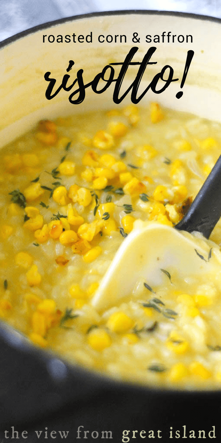 Use Accessories To Link Your Island To The Rest Of Your: Roasted Corn And Saffron Risotto