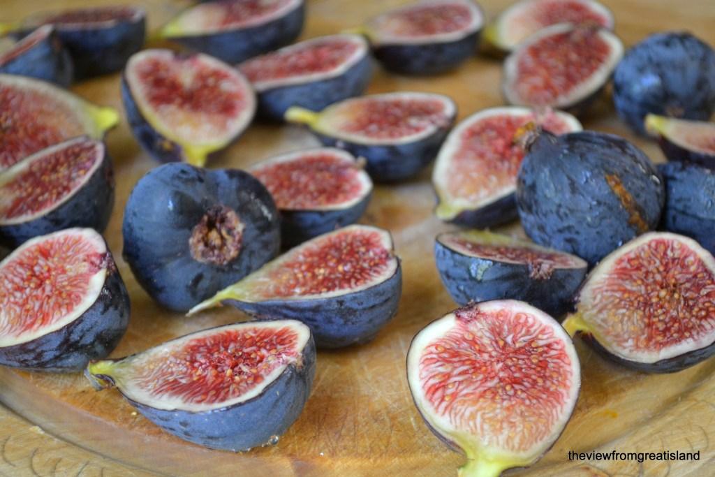 fresh figs for cardamom fig jam