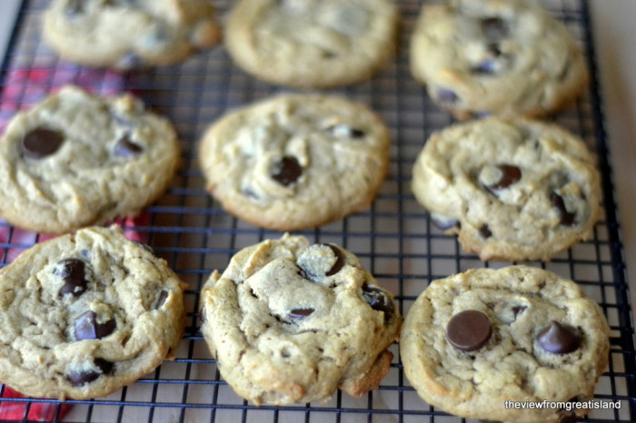 Flourless Peanut Butter Chocolate Chip Cookies, Gluten Free | The View from Great Island 6
