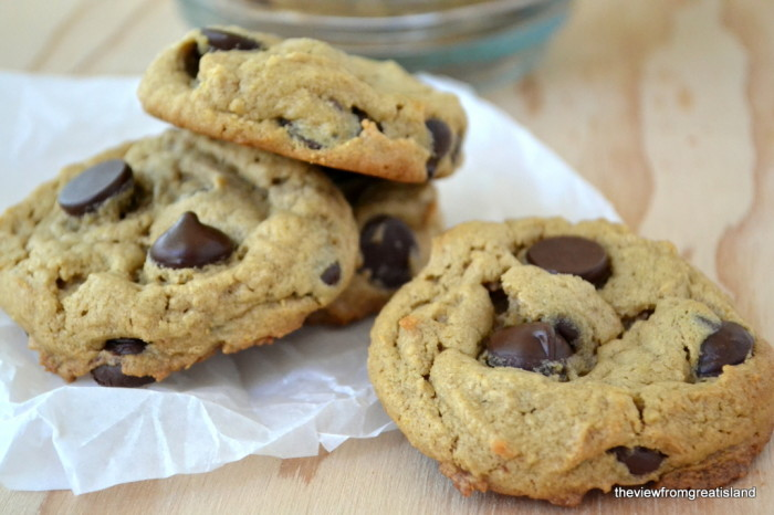 Flourless Peanut Butter Chocolate Chip Cookies, Gluten Free | The View from Great Island 10
