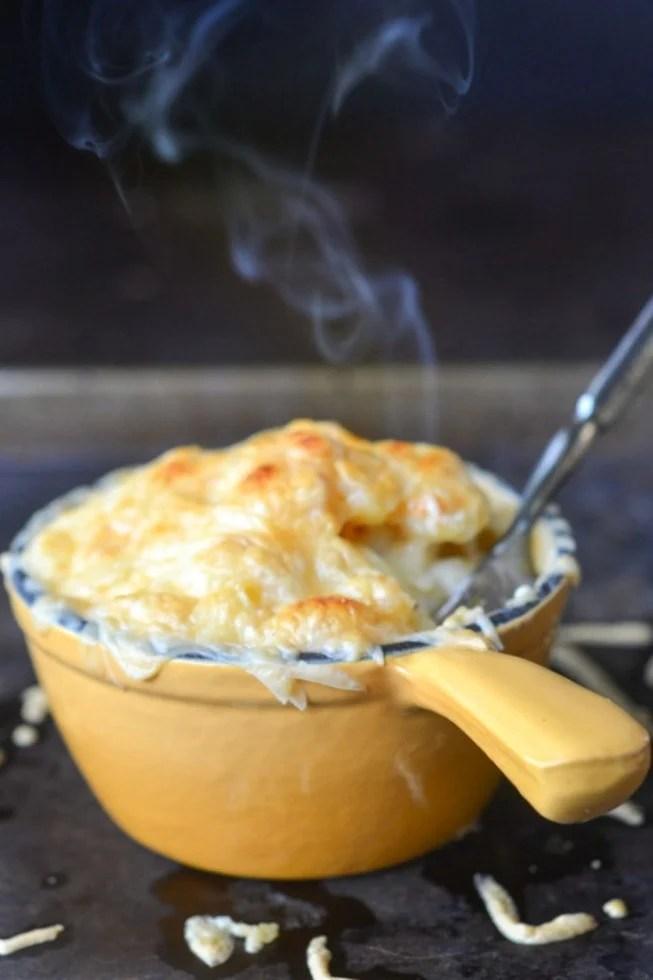 smokey gouda macaroni and cheese