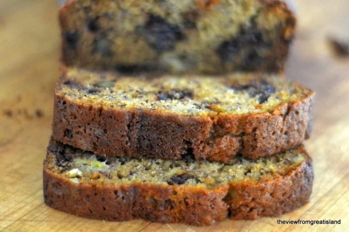 Chocolate Chip Banana Bread 2