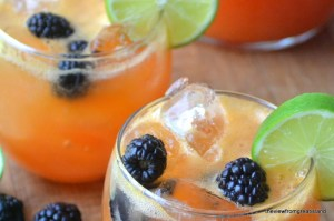 Papaya and lime Agua Fresca |The View from Great Island 8