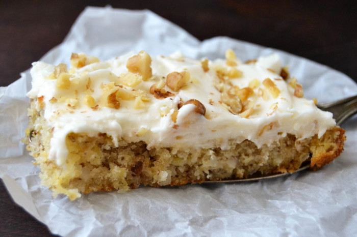 Hummingbird Cake Bars | The View from Great Island