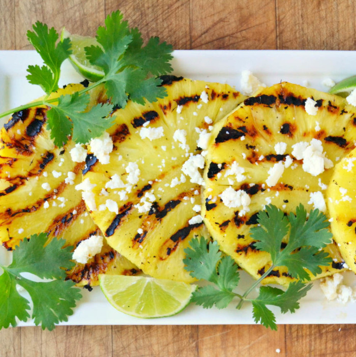 Grilled Pineapple Salad 5