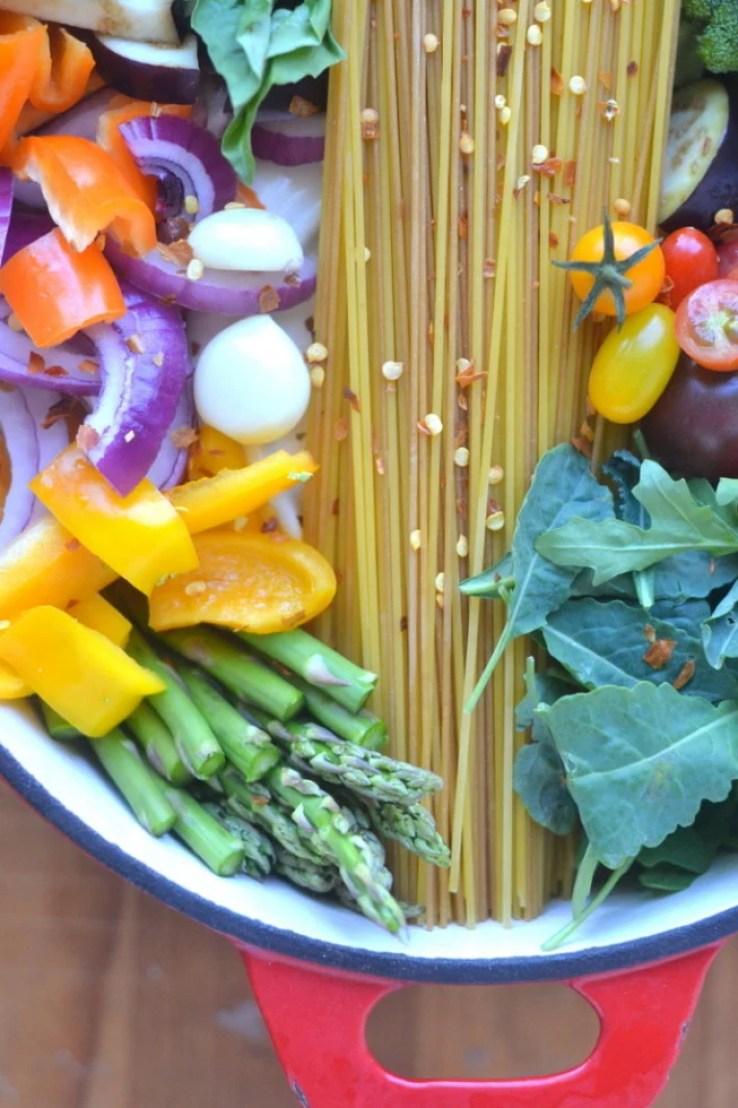 TVFGI's 10 Most Popular Summer Receipes ~ One Pot Farmer's Market Pasta