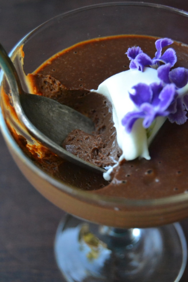 Dark Chocolate Pot de Creme 11