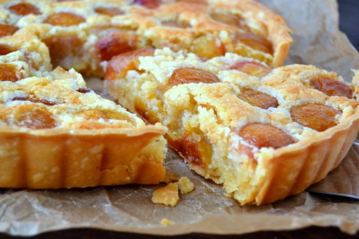 Rainier Cherry Almond Tart 8