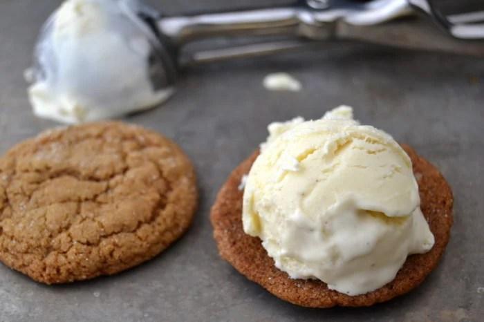 Nutmeg and Ginger Ice Cream Sandwiches 3