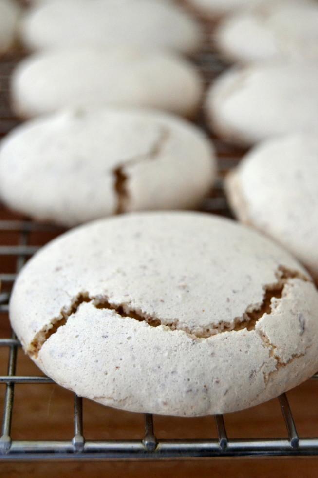 macaroon base for Sarah Bernhardt Cookies
