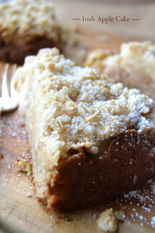 Authentic Irish Apple Cake The View From Great Island