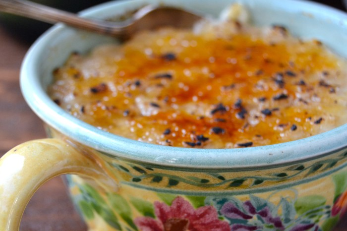 Oatmeal Brûlée