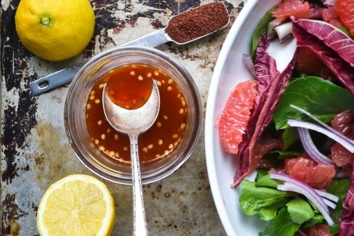 grapefruit and watercress salald dressing