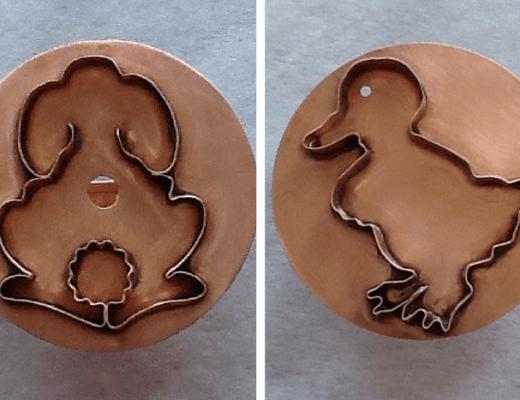 Michael Bonne Copper Cookie Cutters