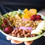 healthy breakfast smoothie bowl