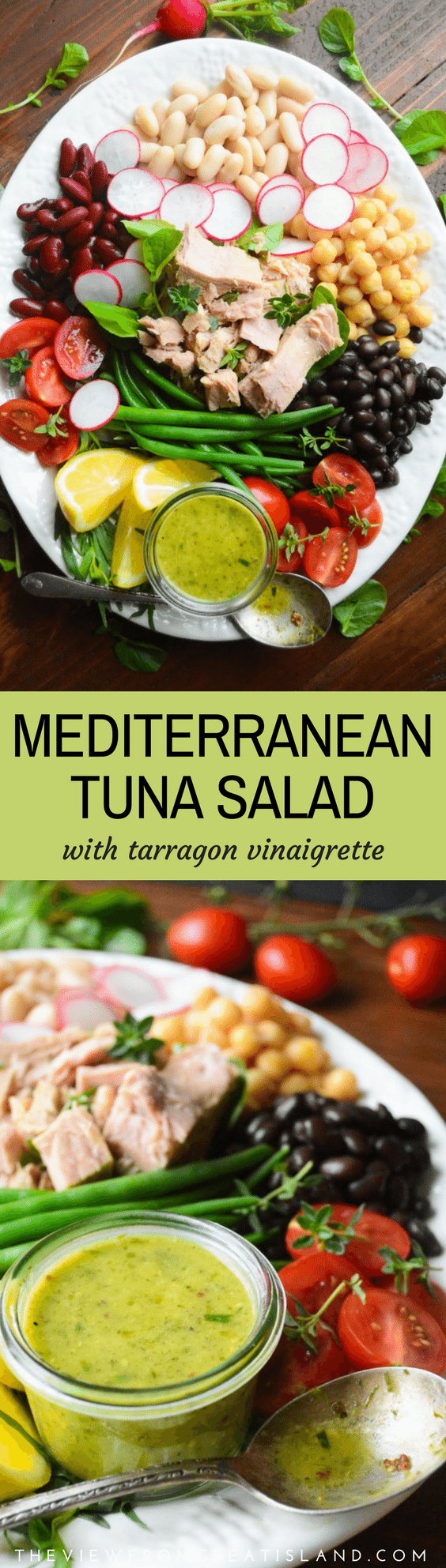 Use Accessories To Link Your Island To The Rest Of Your: Mediterranean Tuna Salad Plate With Tarragon Vinaigrette
