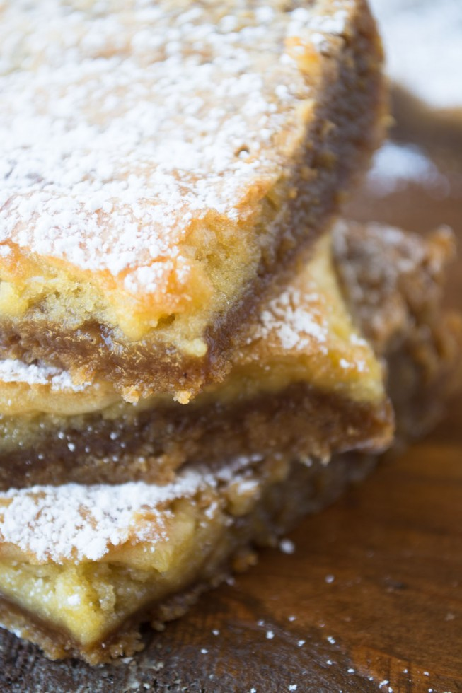Irresistible Crack Pie Bars!